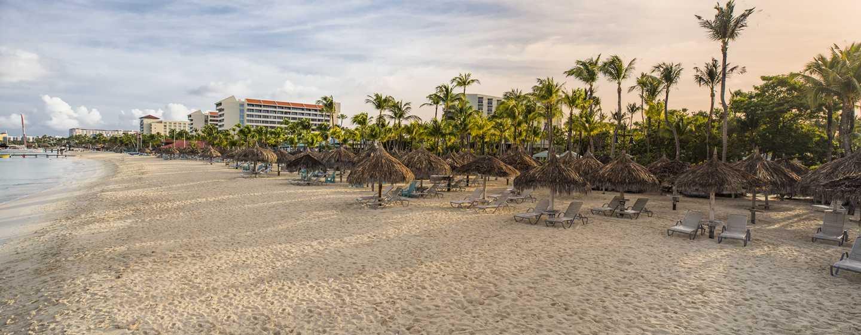 Hilton Aruba Caribbean Resort & Casino hotel, Aruba - Strandpalapa's