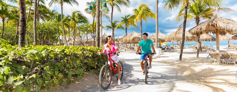 Hilton Aruba Caribbean Resort & Casino hotel, Aruba - Fietsverhuur