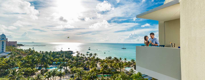 Hilton Aruba Caribbean Resort & Casino hotel, Aruba - Uitzicht vanuit Aruba Tower