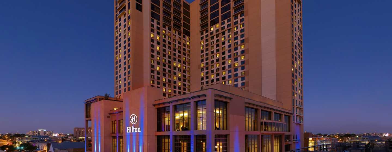 Hôtel Hilton Austin, Texas - Vue de l'extérieur