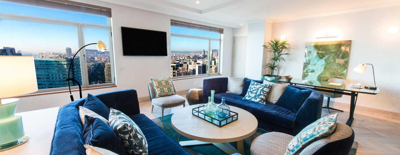 Hotel Hilton Diagonal Mar Barcelona, Espanha – Suíte Presidential