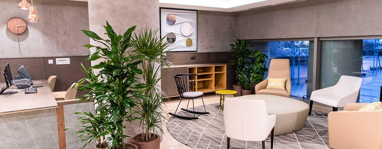 Diagonal Mar Barcelona Hilton Hotel, Spanien– Empfang der Meetingräume