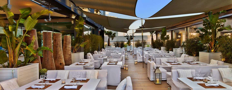 Hotel hilton diagonal mar barcelona hoteles de playa en for Hotel w barcelona restaurante