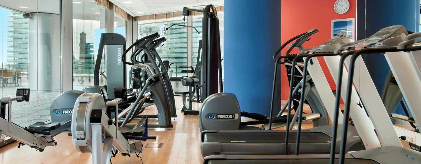 Hilton Diagonal Mar Barcelona Hotel, Spanien – Fitness Center
