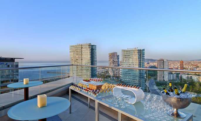 Hilton Diagonal Mar Barcelona Hotel, Spanje - Executive lounge
