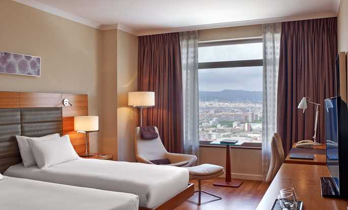 Hilton Diagonal Mar Barcelona hotel, Spanje - Twin Executive kamer