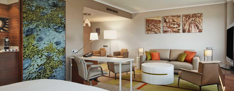 Hôtel Hilton Barcelona, Espagne - Suite Alcôve