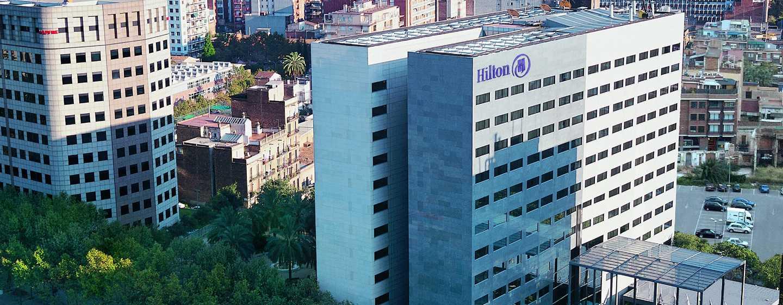 Hôtel Hilton Barcelona, Espagne - Bâtiment de l'hôtel Hilton Barcelona