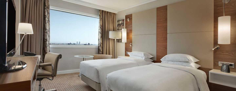 Hotel Hilton Barcelona, España - Habitación Hilton con camas gemelas