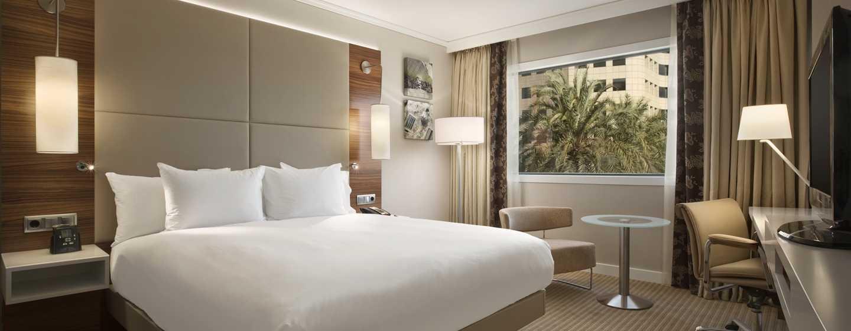 Hôtel Hilton Barcelona, Espagne - Chambre exécutive avec très grand lit