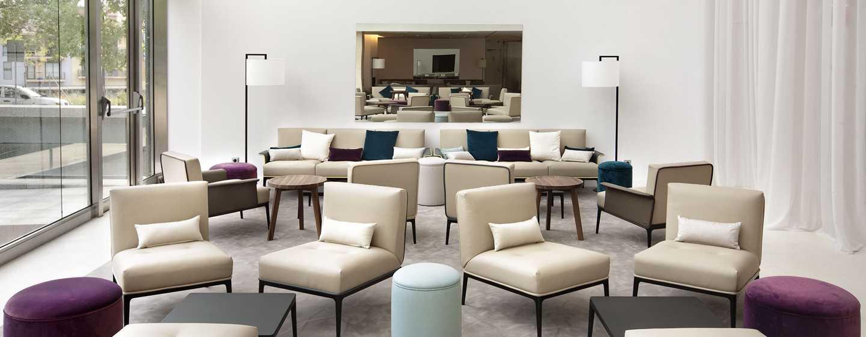 Hotel Hilton Barcelona, España - Área del lobby
