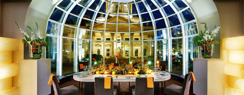 Hôtel Hilton Berlin, Allemagne - Suite d'angle - Restaurant Beletage