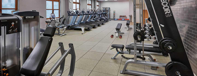 Hilton Berlin Hotel, Deutschland – Fitnesscenter