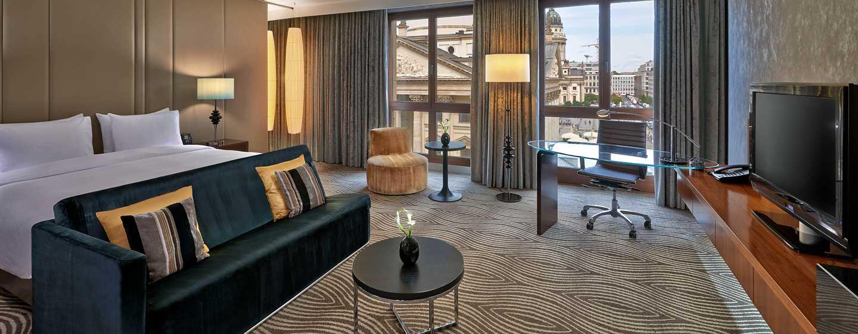 Hôtel Hilton Berlin, Allemagne - Centre de remise en forme Hilton - Suite junior