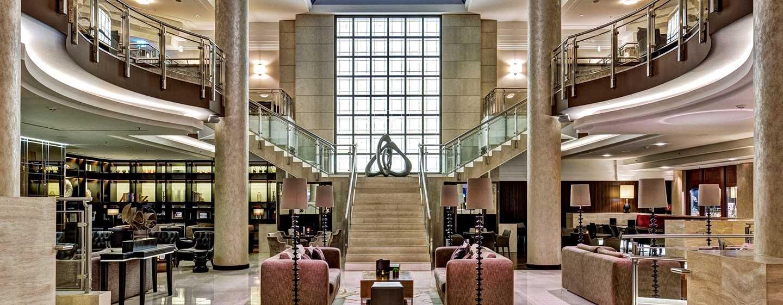 Hilton Berlin Hotel, Deutschland– Listo Lobby Lounge