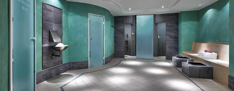 Hilton Berlin Hotel, Tyskland – Bastuavdelning