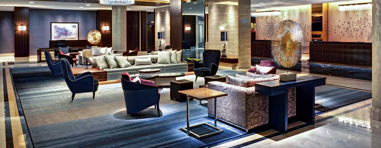 Hotel Hilton Berlin, Alemania - Lobby del hotel
