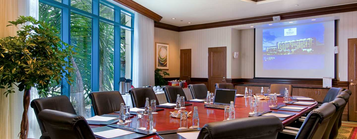 Hilton Barbados Resort, Barbados – Boardroom