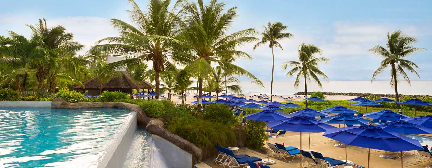 Hilton Barbados Resort, Barbados - Piscinas de borde infinito