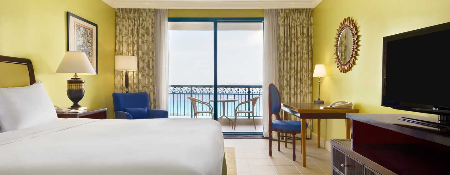 Hilton Barbados Resort, Barbados - Habitación con cama King y vista al mar