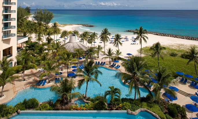 Hilton Barbados Resort, Barbados - Piscinas y playa