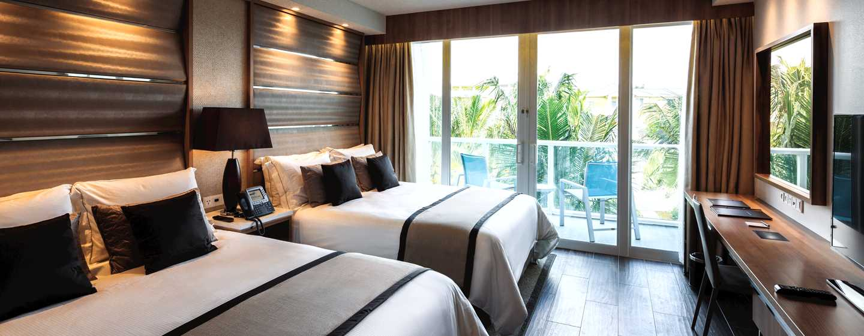Hilton resorts world bimini bahamas resorts en las bahamas for Habitaciones con dos camas