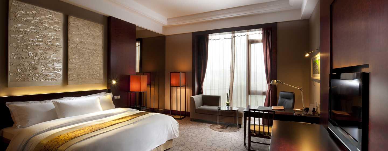 Hilton Beijing Capital Airport Hotel, China – Executive Zimmer mit King-Size-Bett