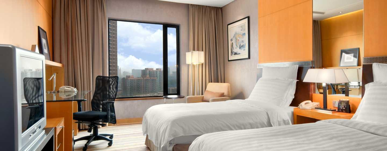 Hilton Beijing, China– Deluxe Zweibettzimmer
