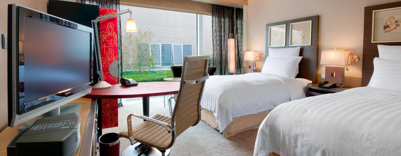 Hilton Beijing, China– Executive Zweibettzimmer