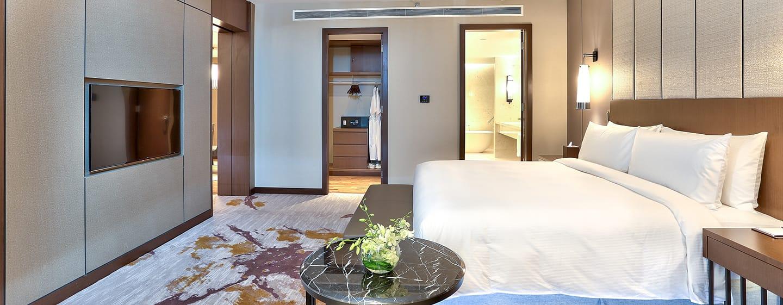 โรงแรม Hilton Kota Kinabalu มาเลเซีย - ห้องสวีทแบบหนึ่งห้องนอน