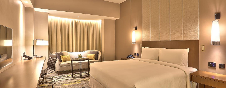 Hotel Hilton Kota Kinabalu, Malaysia - Kamar Deluxe dengan Tempat Tidur King