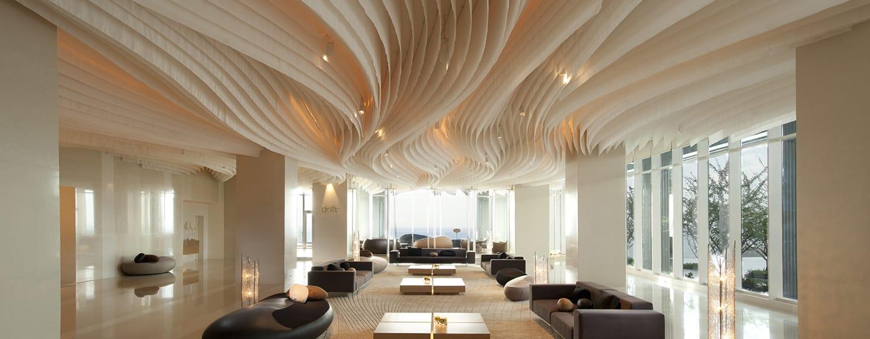 โรงแรมฮิลตัน พัทยา ประเทศไทย - ล็อบบี้หลักของโรงแรม