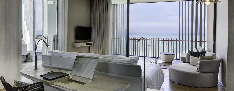โรงแรมฮิลตัน พัทยา ประเทศไทย - ห้องเอ็กเซ็กคิวทีฟ พลัส วิวทะเล