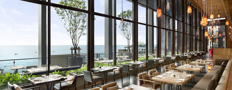 โรงแรมฮิลตัน พัทยา ประเทศไทย - ห้องอาหารเอดจ์