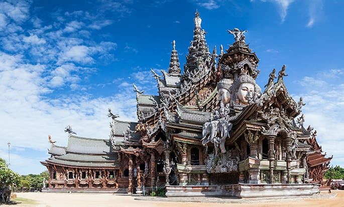Hotel Hilton Pattaya, Thailand - Sanctuary of Truth