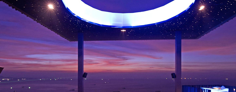 Hilton Pattaya Hotel, Thailand– Dachrestaurant und Bar Horizon