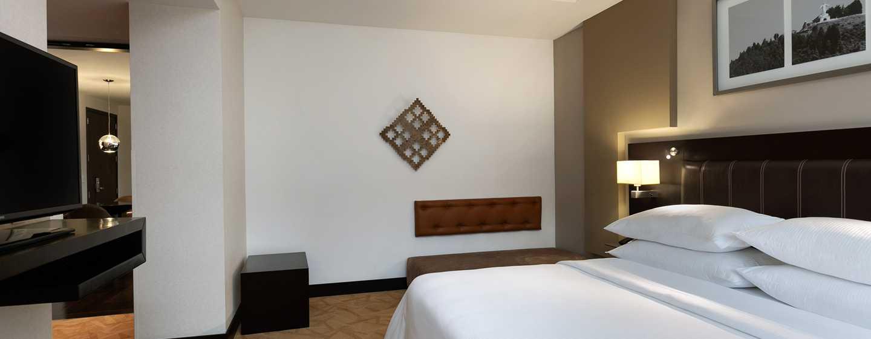Hotel Hilton Bogota, Colombia - Habitación accesible para personas con discapacidades con cama King