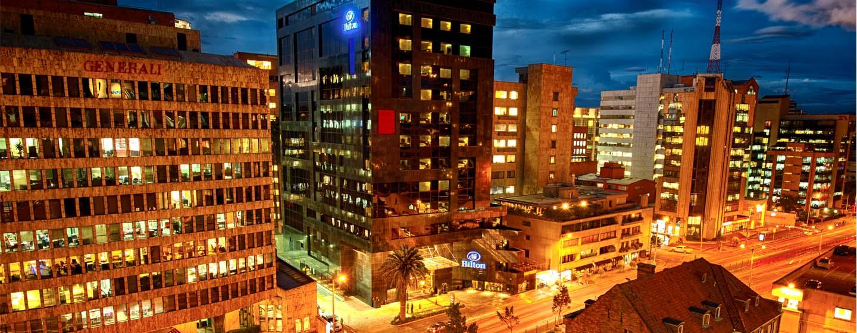 Hotel Hilton Bogota, Colômbia – Exterior do hotel