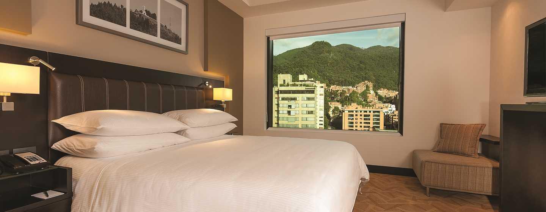Hotel Hilton Bogota, Colombia - Dormitorio de la suite Presidential