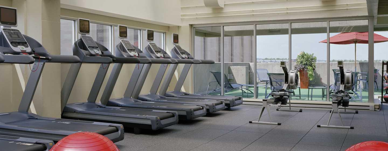 Hotel Hilton Boston Back Bay, EUA – Academia de ginástica