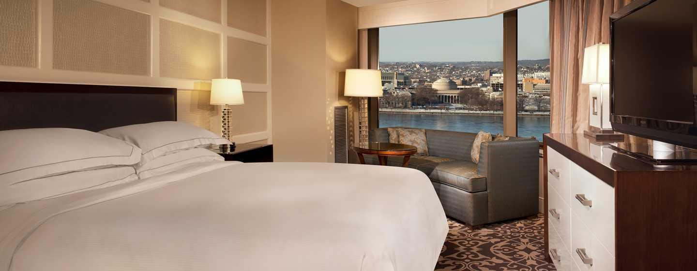 Hotel Hilton Boston Back Bay, EUA – Superior Panoramic, 1 cama king-size