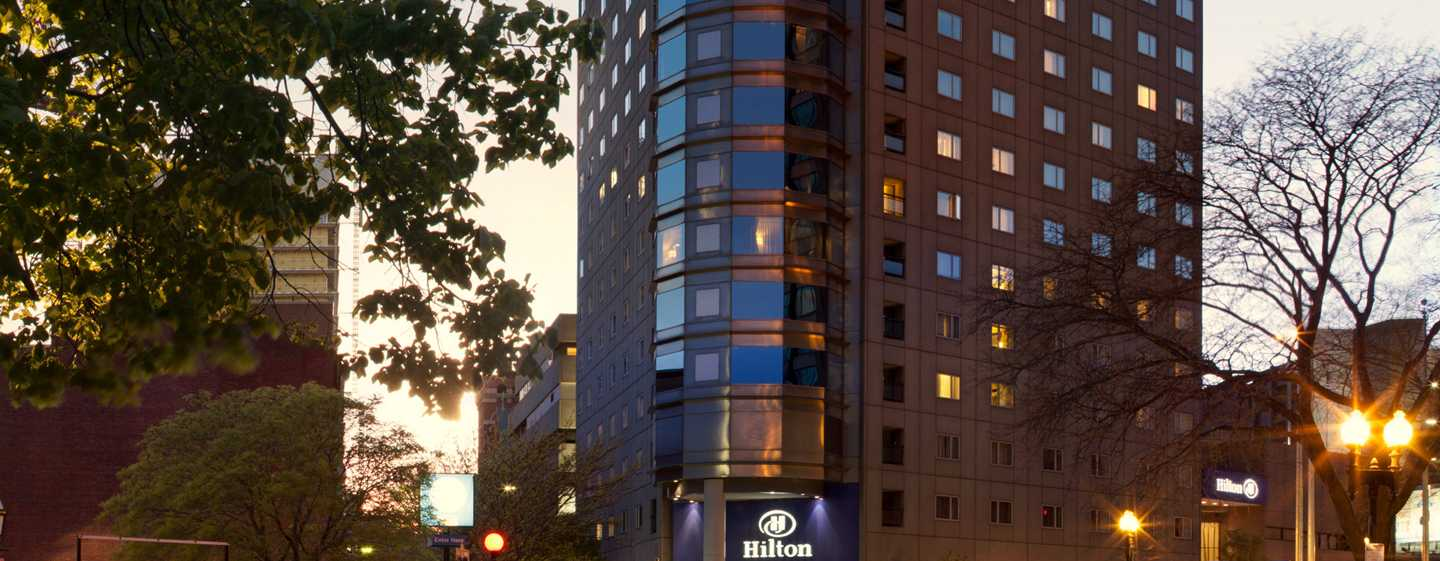 Hotel Hilton Boston Back Bay, EUA – Exterior do hotel
