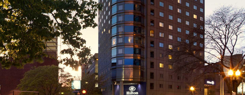 Hôtel Hilton Boston Back Bay, États-Unis - Extérieur de l'hôtel