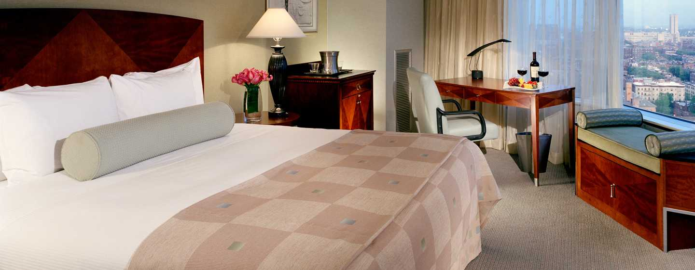 Hotel Hilton Boston Back Bay, EUA – Quarto