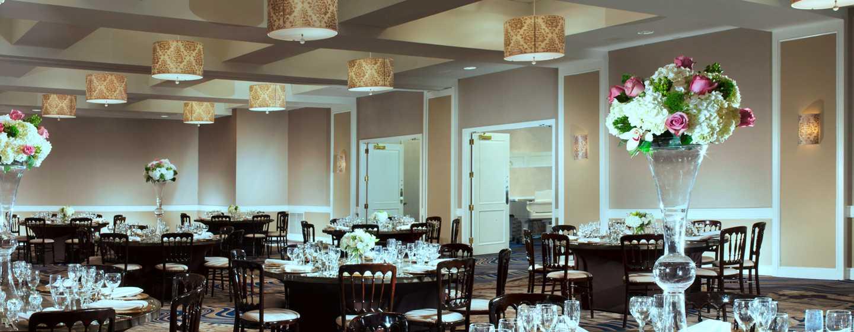 Hotel Hilton Boston Back Bay, EUA – Sala de reunião