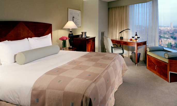 Hotel Hilton Boston Back Bay, EUA – Quarto Corner com 1 cama king-size