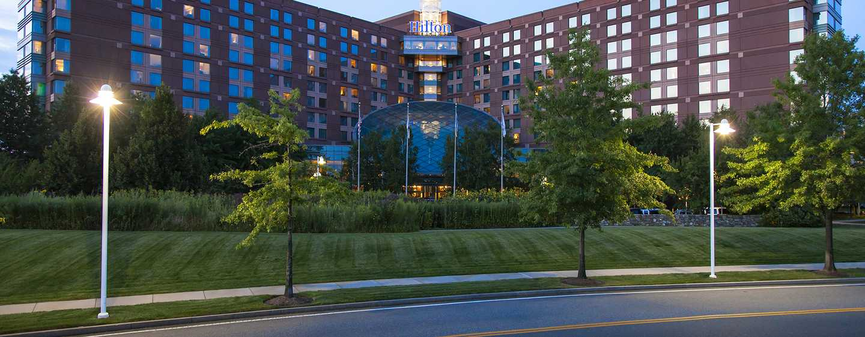 Hilton Boston Logan Airport Hotel, USA– Hoteleingang