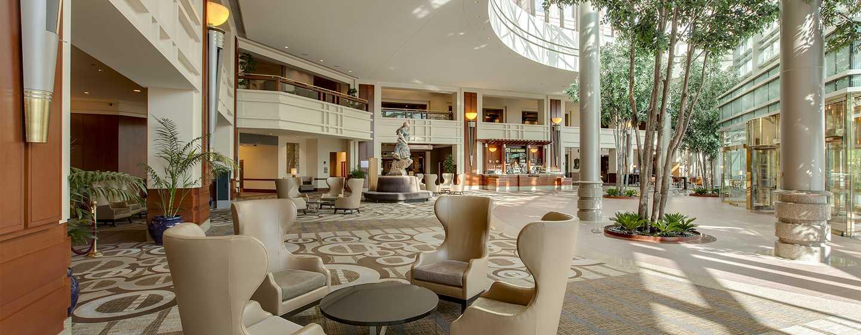 Hilton Boston Logan Airport Hotel, USA– Lobby