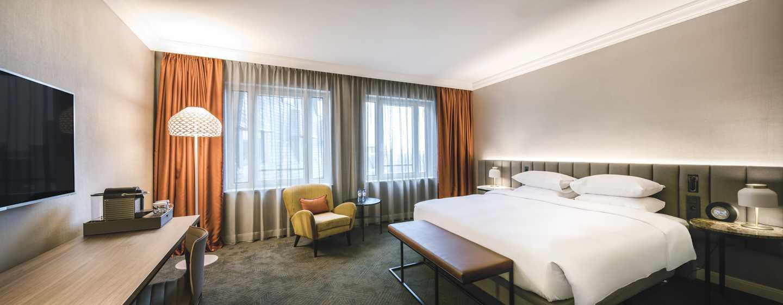 Hilton Brussels Grand Place Hotel- Kamer
