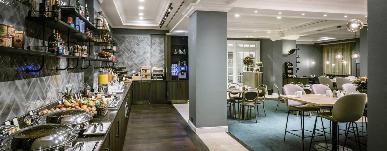 Hôtel Hilton Brussels Grand Place, Belgique - Buffet de petit déjeuner